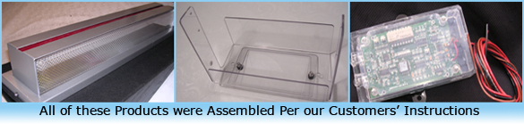 custom plastic assembly services
